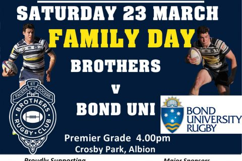 Round 1 – Brothers v Bond Uni